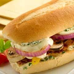 Sandwiches Estilo Mediterraneo