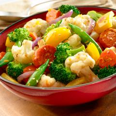 Honey-Orange Mixed Vegetables