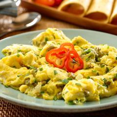 Egg & Nopalitos Scramble