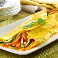 Family-Style Vegetable Omelette