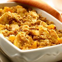 Pumpkin-Spiced Apple Crisp