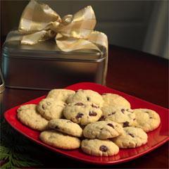 Cranberry-Lemon Sugar Cookies