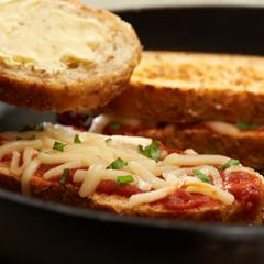 Pizza-Style Grilled Cheese