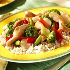 Green Tea Asian Stir-Fry