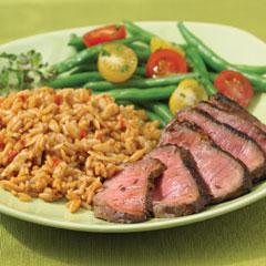 Chili-Rubbed Steak