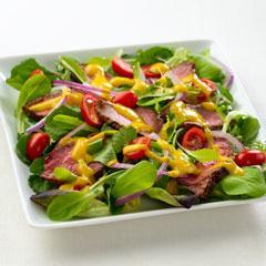 Mango Chimichurri Steak Salad