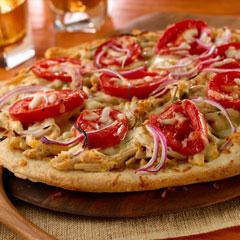 Pizza De Pollo Al Chipotle