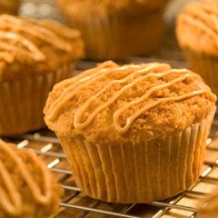 Honey-Cranberry Muffins with Pecans