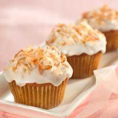 Coconut-Banana Cupcakes