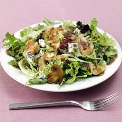 Golden Chicken, Mushroom & Onion Salad