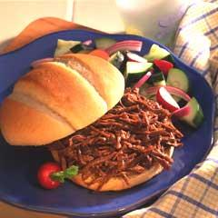 Hearty BBQ Beef Sandwiches