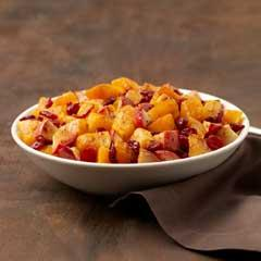 Butternut Squash with Apple & Cranberries