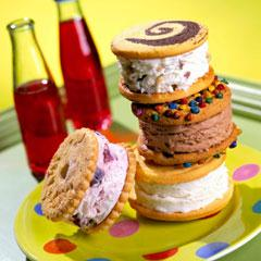 Sándwiches helados Breyers