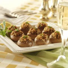 Italian-Style Stuffed Mushrooms