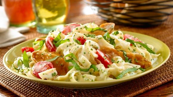 Chicken Margherita Alfredo