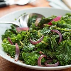 Sauteed Kale & Red Onion