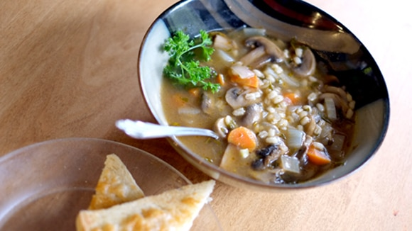 Vegetarian Barley Soup