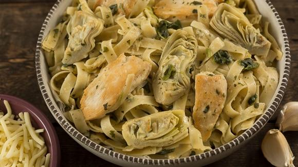 Steak spinach pasta recipe