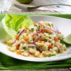 Easy Peruvian Ceviche