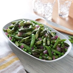 Simply Sautéed Spring Vegetables