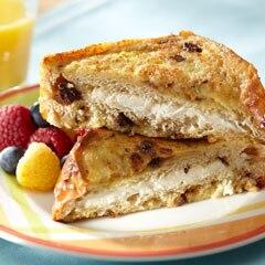 Stuffed Cinnamon Raisin French Toast
