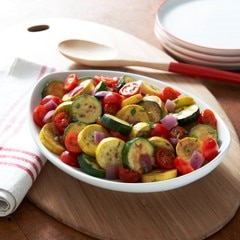 Simply Sautéed Summer Vegetables