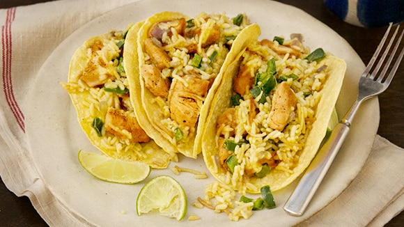 Chili Lime Chicken Tacos