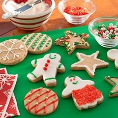 Ginger Spice Holiday Cookies