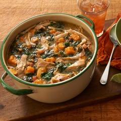 Callaloo Chicken Stew