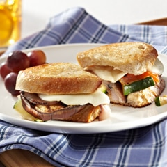 Grilled Cheese & Veggie Sandwiches