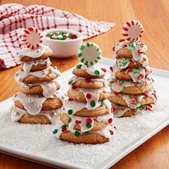 Make It Yours Cookie Recipe Stacked Christmas Tree Cookies
