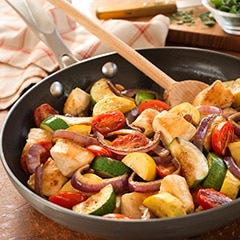 Easy Chicken Skillet One Dish Dinner
