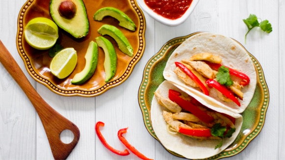 Southwest Turkey Fajitas