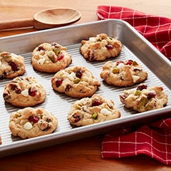 Make It Yours™  Cookie Recipe-Pistachio, Cranberry  & White Chocolate Chocolate Cookie