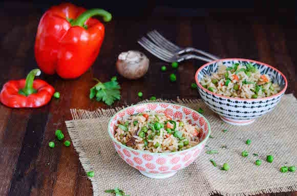 Easy Vegetable Rice