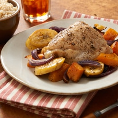 Allspice & Thyme Roasted Chicken & Vegetables
