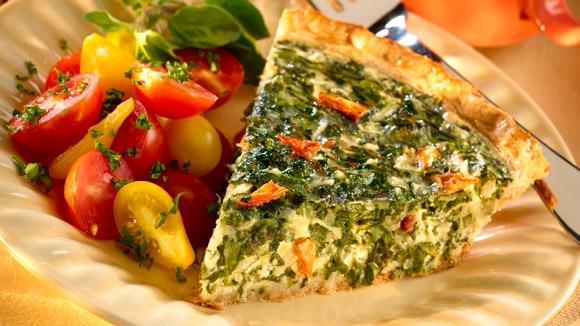 Spring Vegetable Quiche