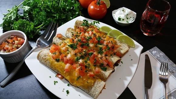 Spanish Rice Burrito Dinner Bake
