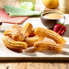Churros with Dulce de Leche Sauce