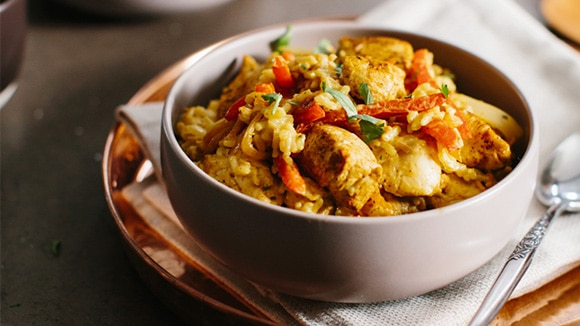 Coconut-Curry Chicken