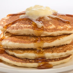 Deliciously Buttery Pancakes
