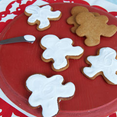 Buttery Gingerbread Cookies