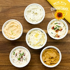 Savory Custom Buttery Spreads