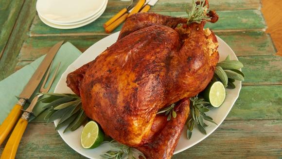 Roast Turkey with Mexican Rub