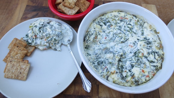 Baked Spinach Feta Dip
