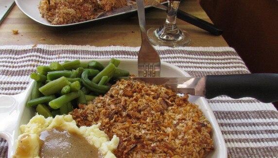 Crispy Baked Onion Chicken