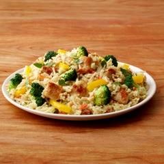 Pollo Cremoso con Verduras