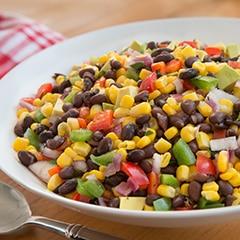 Buttery Summer Corn & Bean Salad