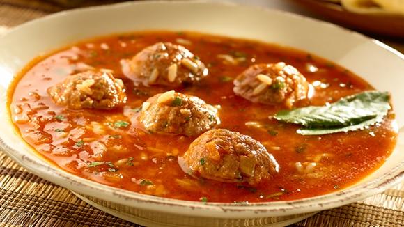 Lamb Albondiga Soup