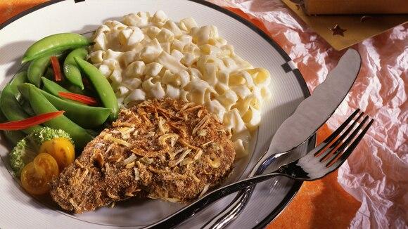 Onion-Crusted Pork Chops